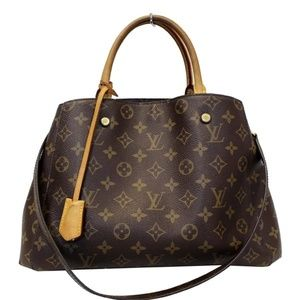 LOUIS VUITTON MONTAIGNE MM MONOGRAM CANVAS